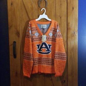 NWOT XL Auburn Christmas Sweater